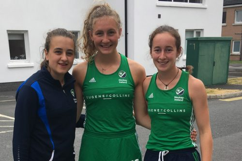 Irish U18 girls representation 2018