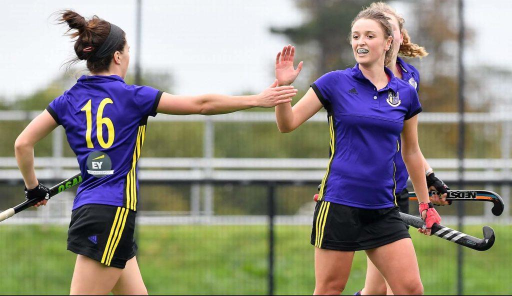 Ladies celebrate a goal - 2200